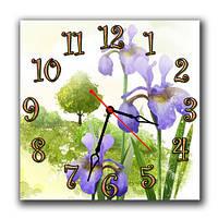 Часы настенные Садовые ирисы А49