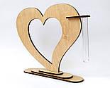 Ваза «Любляче серце»: вишуканий декор і ідеальний подарунок для коханої людини, фото 3