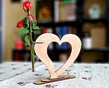 Ваза «Любляче серце»: вишуканий декор і ідеальний подарунок для коханої людини, фото 4