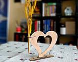 Ваза «Любляче серце»: вишуканий декор і ідеальний подарунок для коханої людини, фото 6