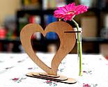 Ваза «Любляче серце»: вишуканий декор і ідеальний подарунок для коханої людини, фото 8