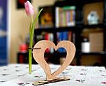 Ваза «Любляче серце»: вишуканий декор і ідеальний подарунок для коханої людини, фото 9
