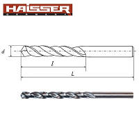 Сверло по металлу Haisser 3,2х36х65 мм