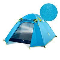 Палатка ультралёгкая 2-х местная NatureHike P-Series II 210T 65D polyester Graphic NH18Z022-P , фото 1