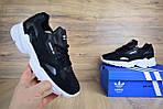 Кроссовки Adidas Falcon, черные, фото 4