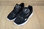 Кроссовки Adidas Falcon, черные, фото 5