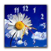 Годинники настінні Ромашка в небі А56