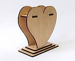 Маленька дерев'яна ваза «Любляче серце»: найкращий подарунок для коханої людини, фото 4