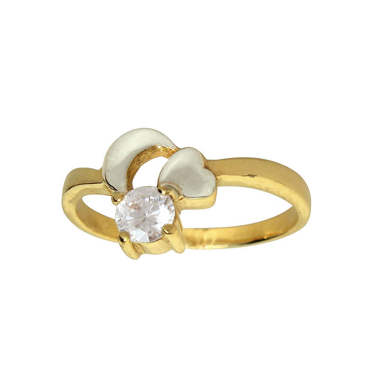 Коктельное золотое кольцо