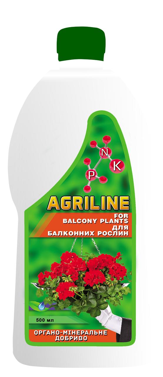 Органо-минеральное удобрение для балконных растений, 500 мл