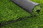 Искусственная трава APOLLO 40 мм для футбола зеленая, фото 8