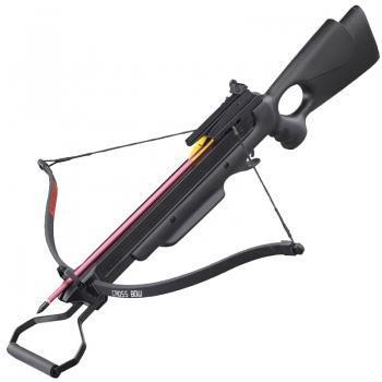 Арбалет винтовочного типа Man Kung 150A3B (длина: 780мм, сила натяжения: 18кг), комплект, черный