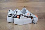 Кроссовки Nike Air Force JD, белые, фото 5