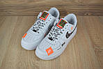 Кроссовки Nike Air Force JD, белые, фото 6