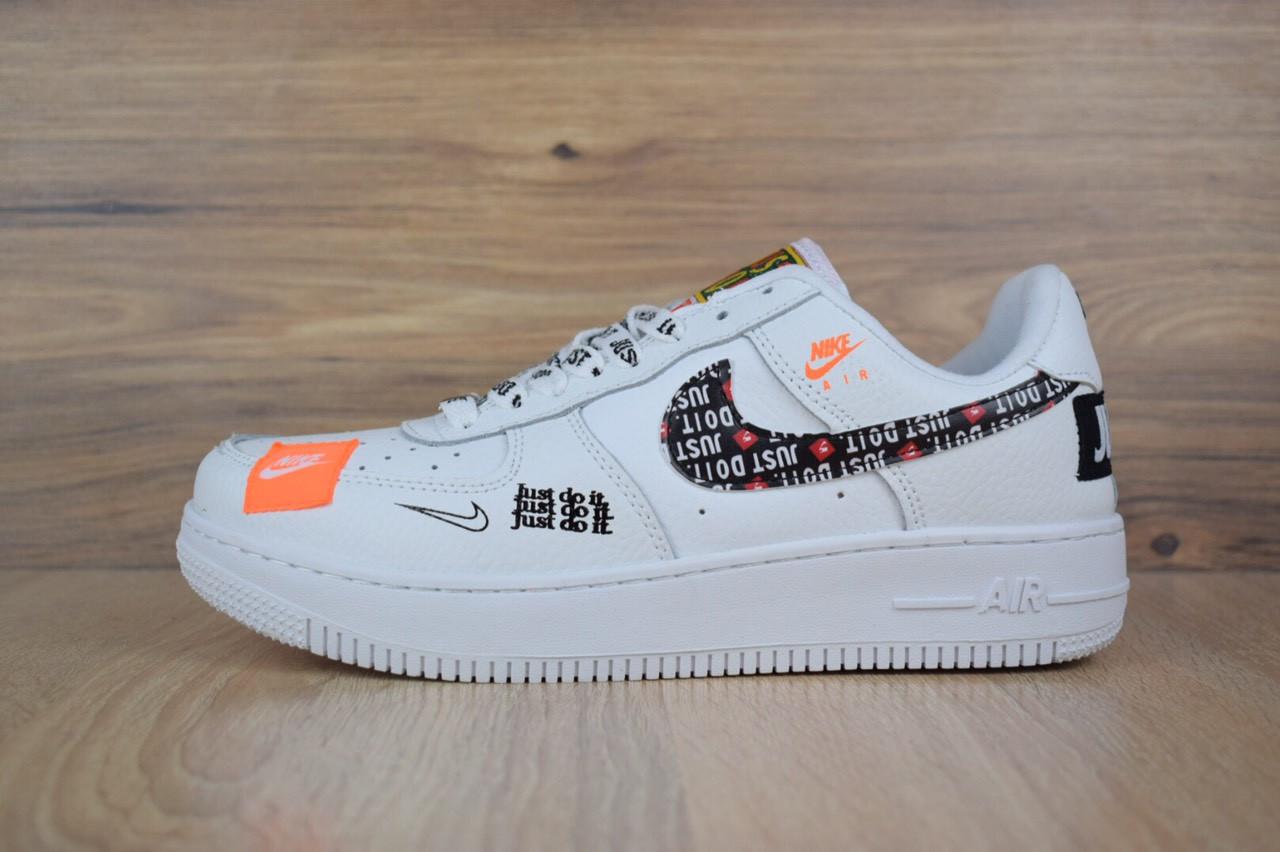 Кроссовки Nike Air Force JD, белые