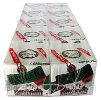 Салфетки бумажные Primier Napkins Holiday 23,5 x 23,5 однослойные - 65 шт.