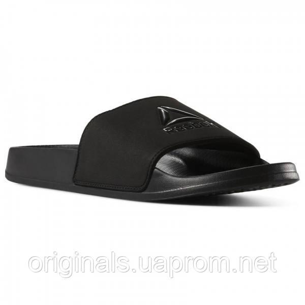 Шлепанцы мужские черного цвета Reebok Fulgere CN6467