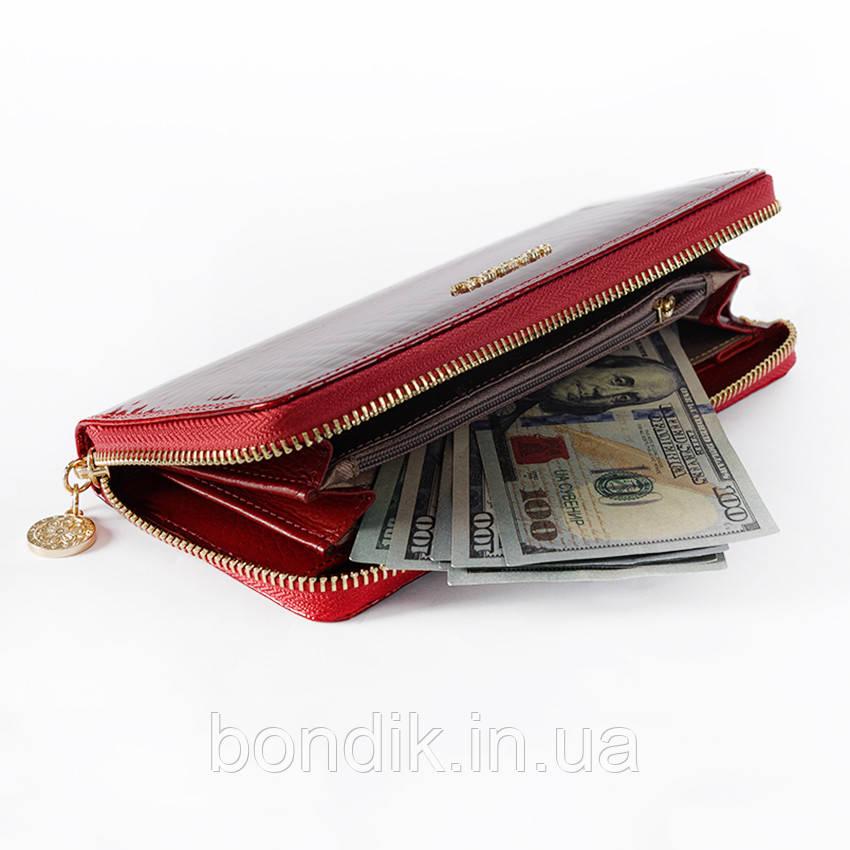 4878f552b2f4 Стильный кожаный женский кошелек клатч Cossroll RN 239: продажа ...