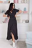 Женский летний легкий сарафан короткий рукав длинный софт размер:42,44,46, фото 2