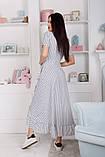 Женский летний легкий сарафан короткий рукав длинный софт размер:42,44,46, фото 5