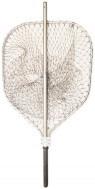 Подсак карповый рыбацкий алюминиевый кордовая нить 55 см
