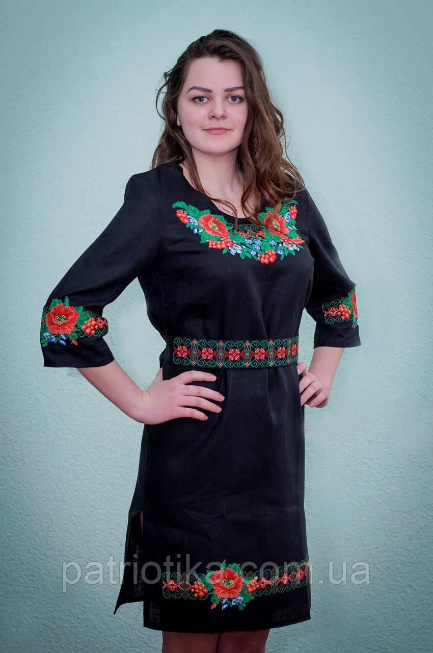 Платье вышиванка купить киев  65430fefe100e