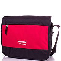 Onepolar Мужская спортивная сумка ONEPOLAR (ВАНПОЛАР) W5004-red