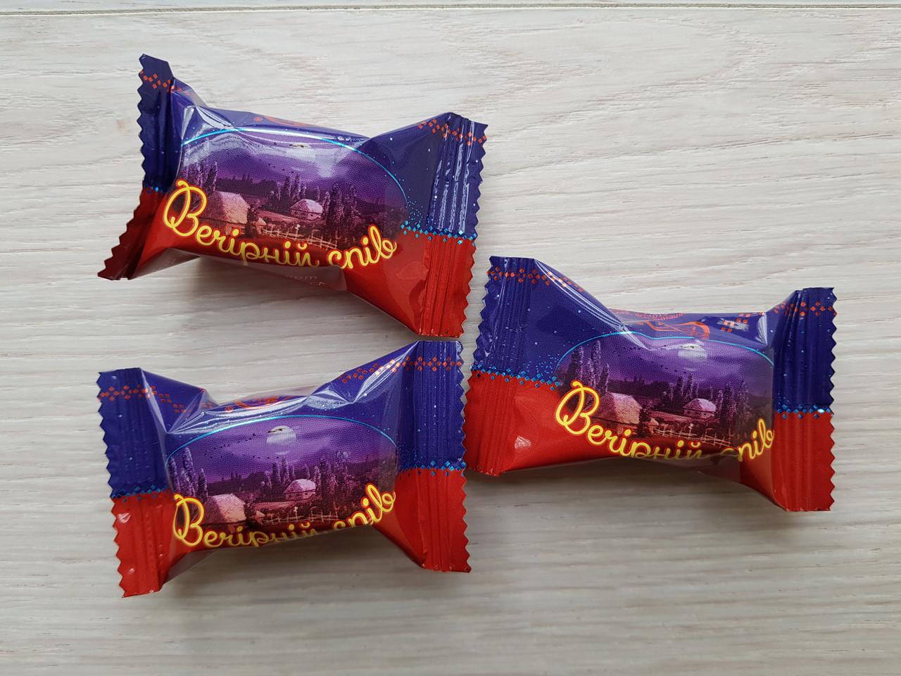 Конфеты Вечерний спив со вкусом вишни 2 кг. ТМ Балу
