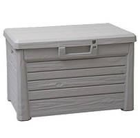 Скриня пластикова Compact Box Florida 120 л тепла сіра Toomax