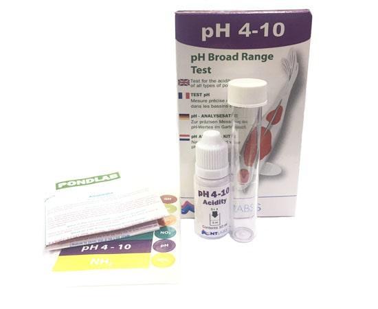 Тест NT Labs Pondlab PH 4-10 Test Kit