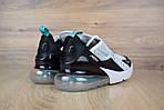 Мужские кроссовки Nike Air Max 270, белые, сетка, фото 3