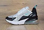 Мужские кроссовки Nike Air Max 270, белые, сетка, фото 7