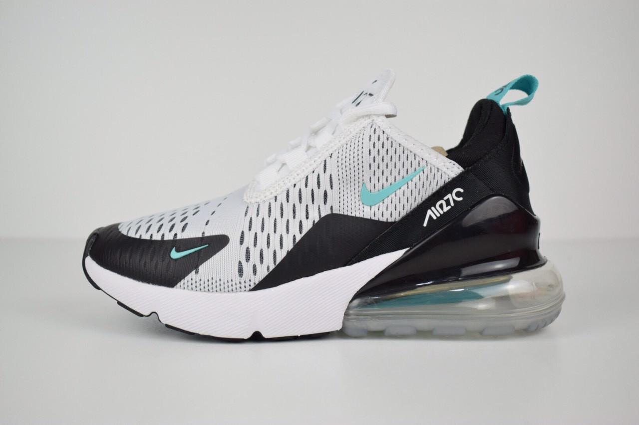 Мужские кроссовки Nike Air Max 270, белые, сетка