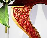 Дерев'яна ваза із візерунком стрінг - арт «Серце»: найкращий подарунок для коханої людини, фото 8
