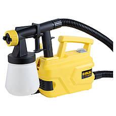 Краскораспылитель электрический HVLP 500 Вт Sigma 6816021 2.6 мм