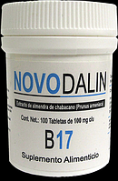 Амигдалин, Vitamin В-17, NOVODALIN Amygdalin, vitamin B-17, 100 mg, 100tabl