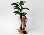 Оригінальна ваза з червоно-білим візерунком «Любляче серце»: вишуканий декор і ідеальний подарунок для коханої, фото 5