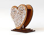 Оригінальна ваза з червоно-білим візерунком «Любляче серце»: вишуканий декор і ідеальний подарунок для коханої, фото 3