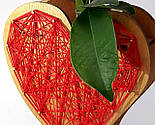Оригінальна ваза з червоно-білим візерунком «Любляче серце»: вишуканий декор і ідеальний подарунок для коханої, фото 8