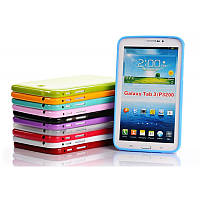 Чехол для Samsung Galaxy Tab 3 7.0 P3200 - Cherry Silicon (с пленкой)