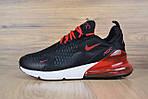 Мужские кроссовки Nike Air Max 270, черные, фото 7