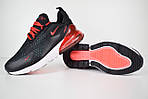 Мужские кроссовки Nike Air Max 270, черные, фото 6