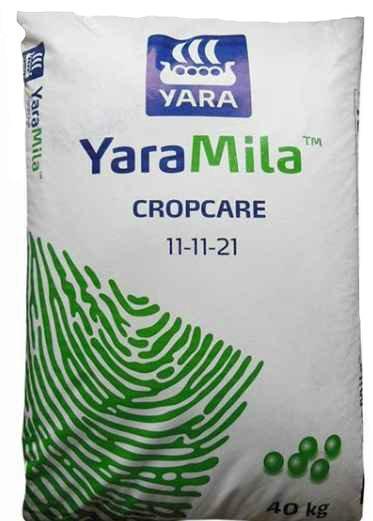 Комплексное минеральное удобрение YaraMila CROPCARE  11-11-21, 40 кг