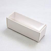 Коробка для цукерок і виробів Hand Made 86х30х30 мм, біла