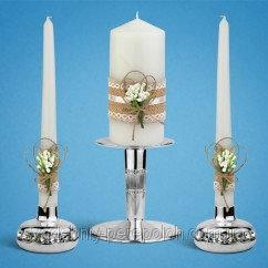 Набори весільних свічок