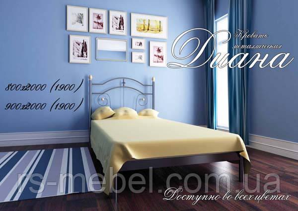 """Кровать """"Диана"""" (Металл-Дизайн)"""
