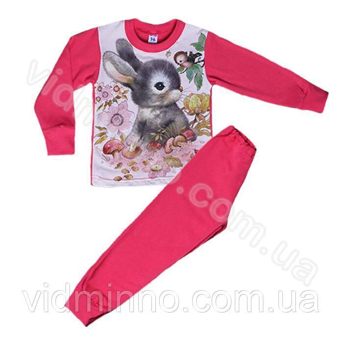 Дитяча піжама Зая на зріст 92-98 см