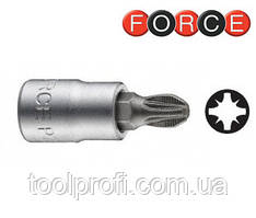 """1/4"""" Головка-бита крестовые Pozidriv РZ.1, L=32 мм"""