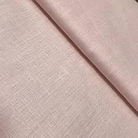 Лён нежный розовый, ширина 150 см, фото 1