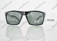 Оптом очки мужские солнцезащитные брендовые Prada (Прада) - Черные - 5155, фото 1
